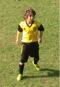 מלך הכדורגל שלנו ליאם פלר במגרש